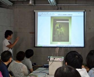 最初は石黒先生の 紹介スライド