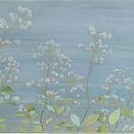 10位 35票 榊原 恵津子『八島ヶ原湿原の風』日本画(紙本膠彩)