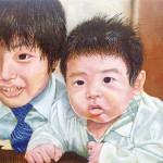 【すきわ賞】加藤直樹『兄と弟』油彩