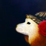 平野裕子『コロブラント』油彩