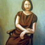 中村雅信『神無月の一日』油彩