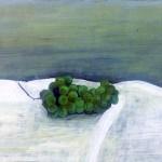 花田奈々子『秋の日』油彩