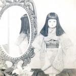 高橋健司『純粋 無垢 威厳』鉛筆