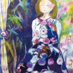 【後期 makoebi賞】松枝 晶子『 夢のつづき』油彩