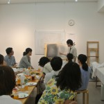 仁田原先生が学生時代に描いた自画像でさらに盛り上がりました!