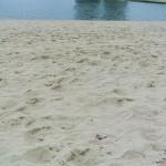 ペンで砂を表現するのは中々難しいですね