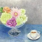 伊江 双美子 『花と紅茶』